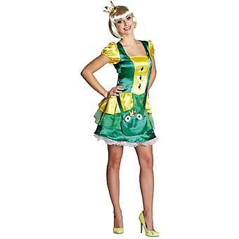 Frauen Kostüme Sexy Frosch Prinzessin Kleid