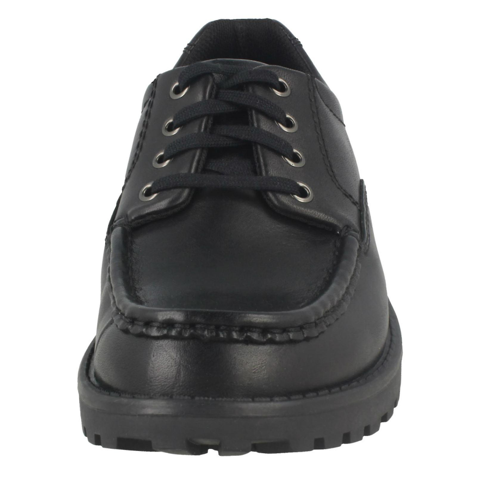 Senior Boys Bootleg By Clarks School Shoes Utility Boy