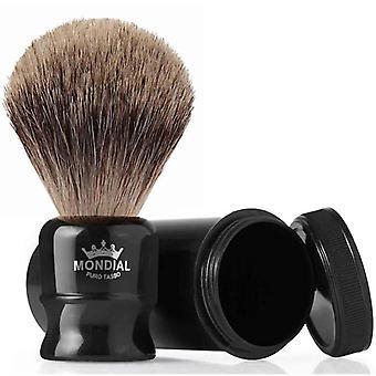 Mondial 1908 Best Badger Travel Shaving Brush Black