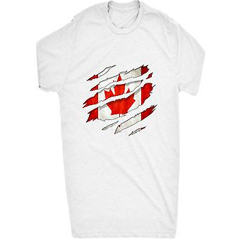 Renowned 0054 Canadian flag ripped