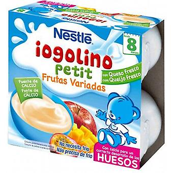 Nestlé Iogolino Petit Varied Fruits + 8 months 4 Units