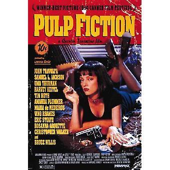 Pulp Fiction Uma film affisch Skriv ut affisch affisch Skriv