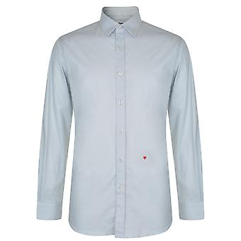 Moschino HR701X1B 65301 05 ljus grå Casual skjorta