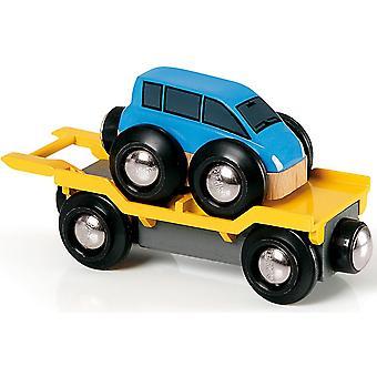 بريو سيارة نقل الأزرق