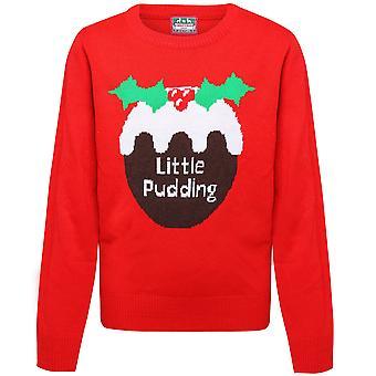 Christmas Shop Childrens/Kids Little Pudding Jumper