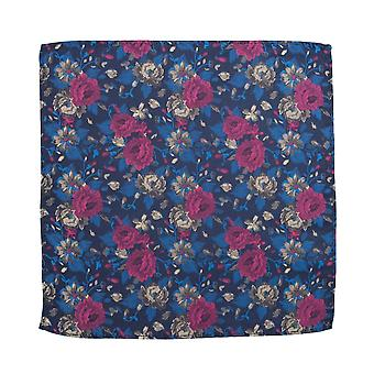 Knightsbridge Luxurious Floral Silk Pocket Square