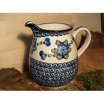 Pitcher, 1000 ml, height 16 cm, 9, traditional polish pottery - BSN 4798