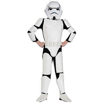 Stormtrooper Classic Deluxe Star Wars Soldier Disney Dress Up Boys Costume