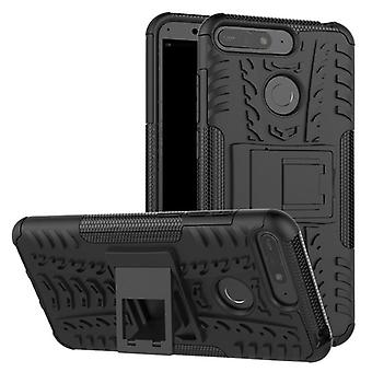 For Huawei Y7 2018 hybrid case 2 piece SWL outdoor black case bag sleeve cover protection
