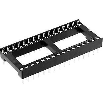ECON connecter espacement de ICF 32 IC socket Contact : 15,24 mm nombre de broches : 32 1 PC (s)