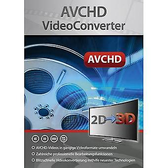 Markt & Technik AVCHD VideoConverter Full version, 1 license Windows Video editor