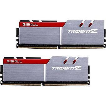 Kit de RAM PC G.Skill Trident Z F4-3200C16D-16GTZB 16 Go 2 x 8 GB DDR4 RAM 3200 MHz CL16-18-18-38