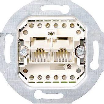 GIRA indsætte UAE socket Standard 55, E2, begivenhed transparent, arrangement, Event uigennemsigtig, Esprit, Klassix, System 55 019000