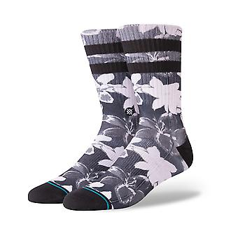 Stance Lilly Crew Socks in Black