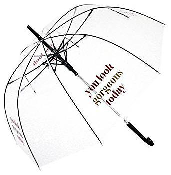 Straight Clear Umbrella (You look gorgeous)