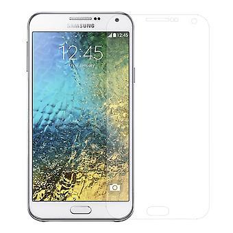 10 x Samsung 銀河 E5 ディスプレイ プロテクター 9 H タンク保護ガラス合わせからす