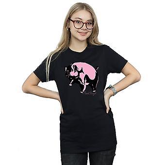 خنزير كروكى صديقها بينك فلويد المرأة تناسب القميص