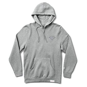 Diamond Supply Co. Micro brillant Hoodie Heather Grey