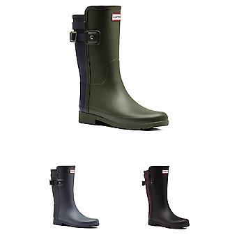 Womens Hunter Original Refined Back Strap Short Waterproof Wellies Boots