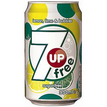 7Up Sugar Free Cans