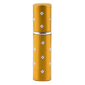 Perfume container, 5 ml gold