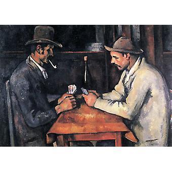The Card Players, Paul Cezanne, 60x73cm