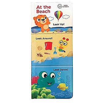 At the Beach: Look Up, Look Around, Look Down (Baby Einstein) (3 in 1 Tall Padded Board Book) [Board book]