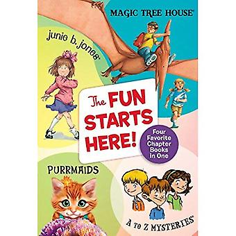 Het plezier begint hier!: vier favoriete hoofdstuk boeken in een