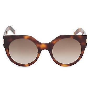 Saint Laurent Round Sunglasses SLIM SL 185 002 52