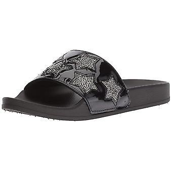 Piscine Spash Slide sandale Kenneth Cole réaction féminine avec étoiles
