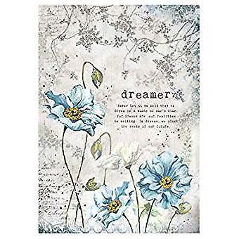Stamperia Rice Paper A4 Dreamer (DFSA4249)