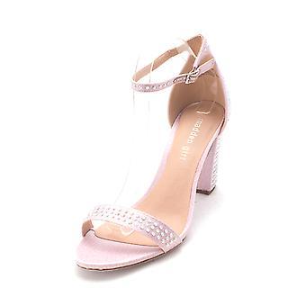 Madden Girl Womens Beella-1 tessuto Open Toe occasione speciale alla caviglia cinturino sabbia...