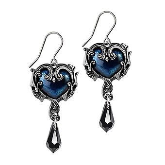 Alchemy Gothic Affaire du Coeur Drop Ohrringe