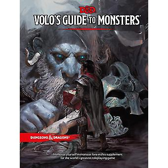Dungeons & Dragons RPG - Volo's Guide To Monsters Book