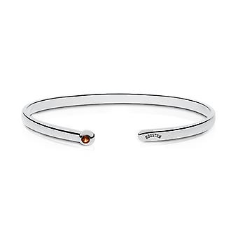 Houston Astros Engraved Sterling Silver Citrine Cuff Bracelet
