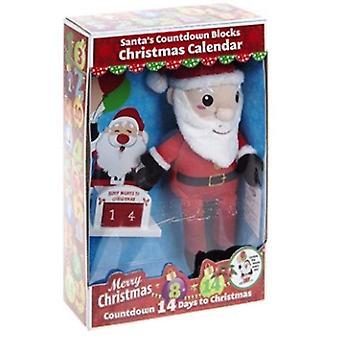 """12"""" Plush Santa 14 Day Xmas"""