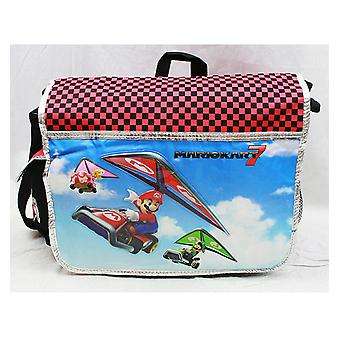 Messenger Bag - Nintendo - Super Mario & Luigi Kart 7 New School Bag nn10841