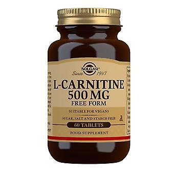 Solgar L-Carnitine 500mg Tablets 60 (571)