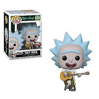 Rick en Morty Tiny Rick met gitaar Amerikaanse exclusieve pop! Vinyl