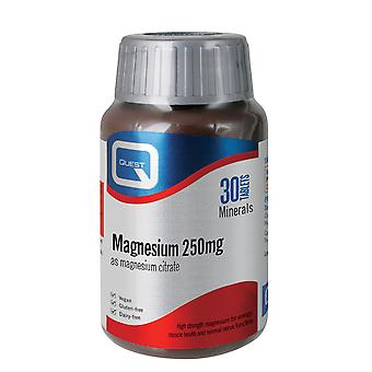 Quest Magnesium 250 mg 30 Tablets