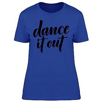 Dansa det ut Tee kvinnors-bild av Shutterstock