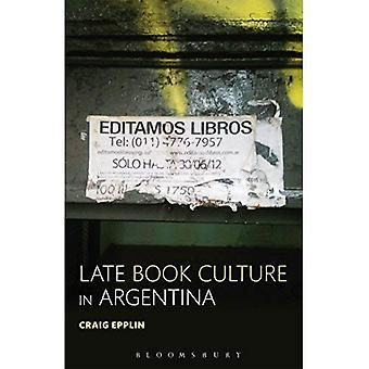 Cultura del libro tardío en Argentina