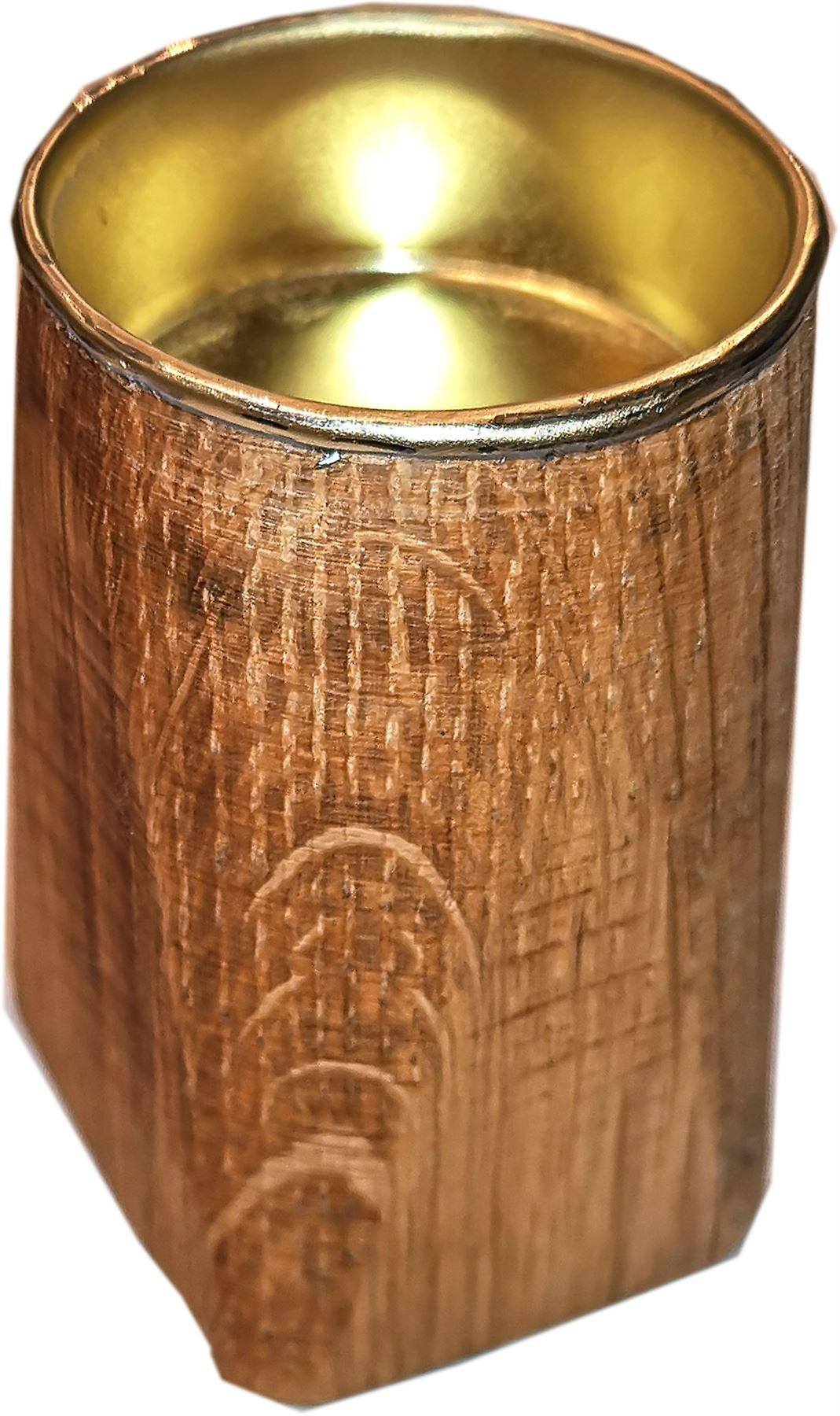 Grieves Wood Turning - Turned Oak Tealight Holder