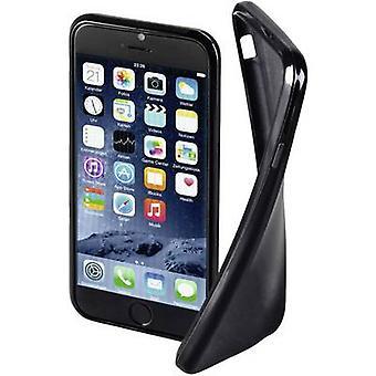 Hama Crystal Back tampa Apple iPhone 6, iPhone 6S Preto