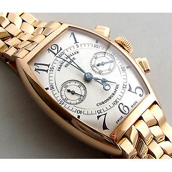 18 carat gold Franck Muller watch