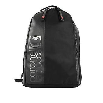 Coronel Tapiocca Nylon - Men's Backpack - (Black) - 30x16x43 centimeters (W x H x L)