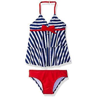 Jantzen små jenter tankini badedrakt, nautiske striper, 5