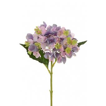 58cm Purple Artificial Silk Hydrangea for Weddings and Floristry
