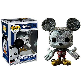 Mickey Mouse Diamond Glitter US Pop! Vinyl