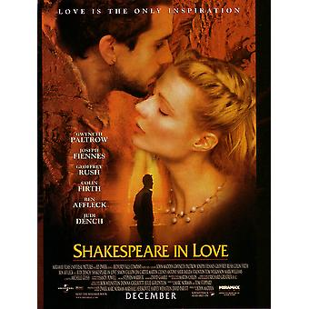 Shakespeare in Love (dubbelzijdig regelmatig) (1998) originele Cinema poster